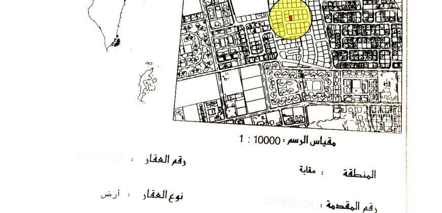 للبيع أرض سكنية بمنطقة مقابة