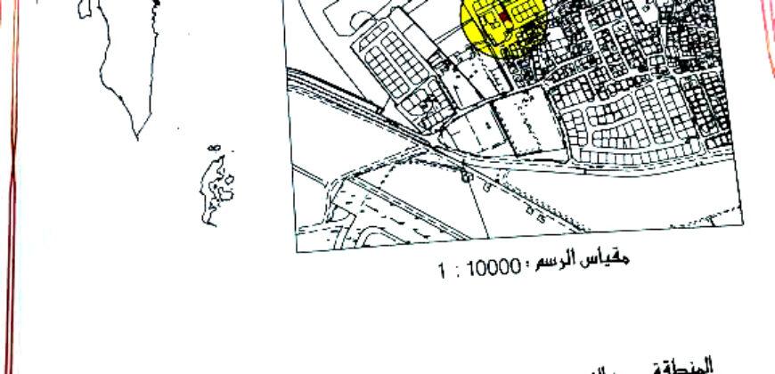 للبيع أرض سكني خاص ( ب ) بمنطقة الدير