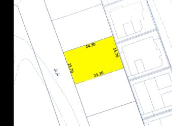 للبيع أرض سكني خاص ( أ ) بمنطقة الزنج