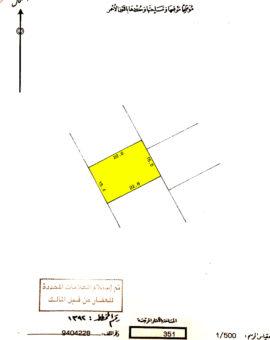 للبيع أرض سكنية إستثمارية بمنطقة الزنج