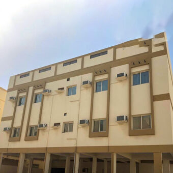 Building for rent with 15 flats with two Stories located in Sanad