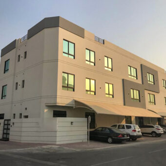 Apartment for sale consist of Three bedrooms & simi-furnished located in Sanad