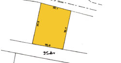 Land for sale RB located in Aali, land size 832.00 SQM, offered for BD 250,758 /- (Price Negotiable)