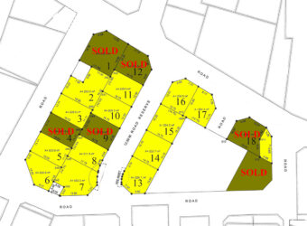 Residential lands for sale at Tubli