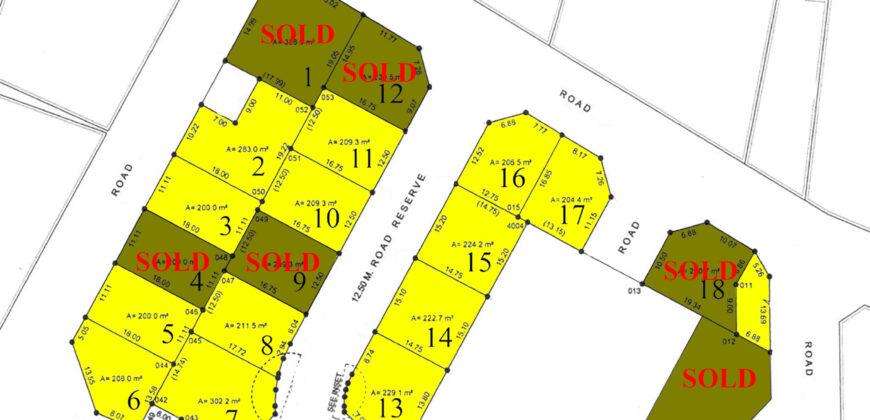 أراضي سكنية   للبيع في توبلي