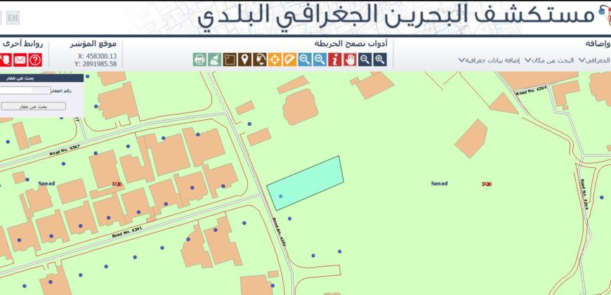 Land for sale RA located in Sanad