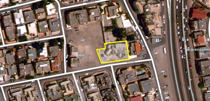 للبيع أرض سكني خاص ( أ ) بمنطقة الزنج، مساحة الارض 997.00  متر مربع، مطلوبة بقيمة -/ 321,948 دينار وقابل للتفاوض