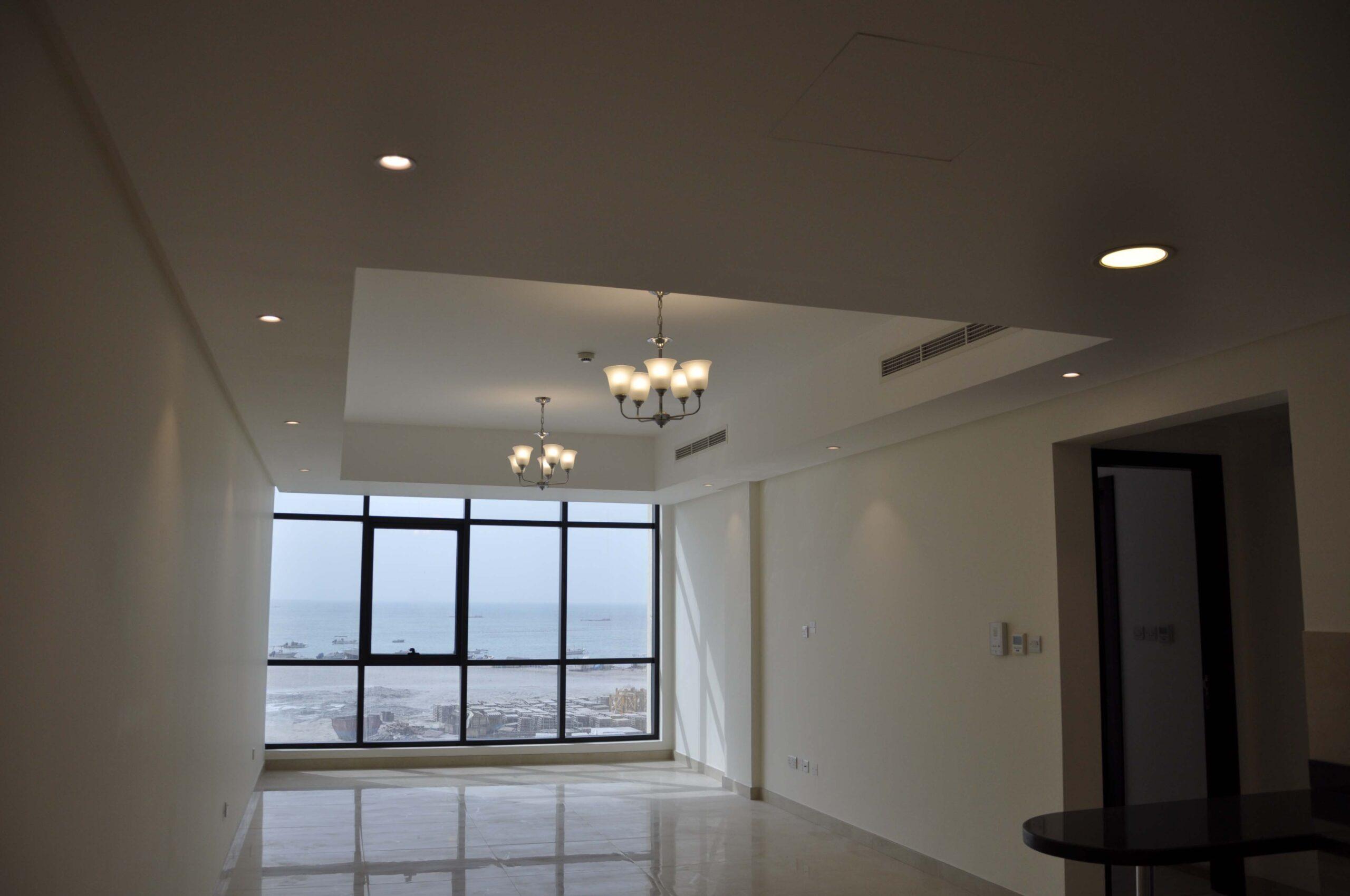 للإيجار شقة سكنية فاخرة نصف مفروشة بمنطقة ضاحية السيف قيمة الإيجار -/ 350 دينار بالشهر