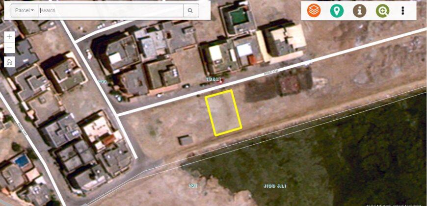 للبيع أرض إستثمارية بمنطقة توبلي خليج توبلي ( بالقرب من ممشى توبلي)