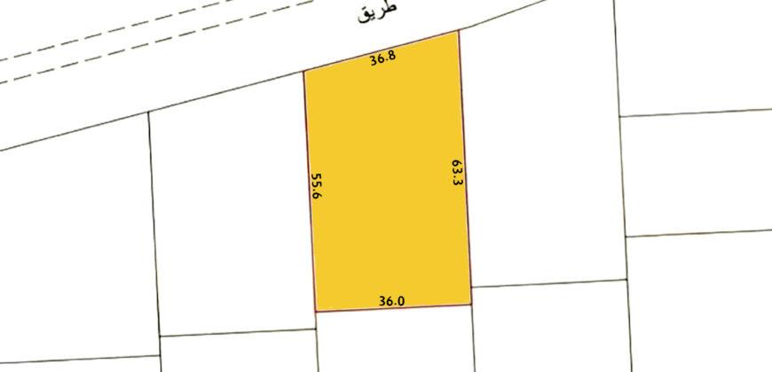 للبيع أرض إستثمارية SP بمنطقة الجنبية بالقرب من