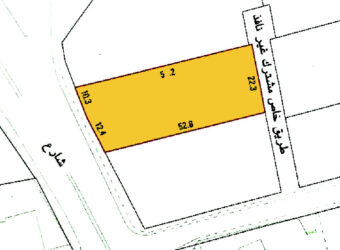 Land for sale B3 located in Adliya
