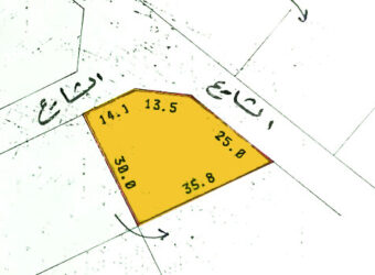Residential land for Sale RA located in Jurdab Town