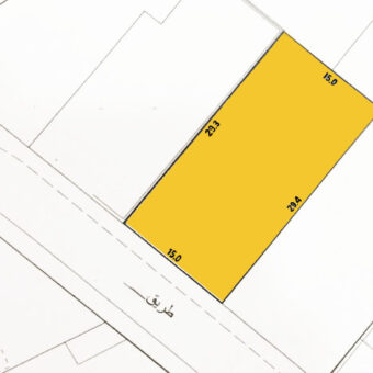 Residential land for sale located in Jurdab Town