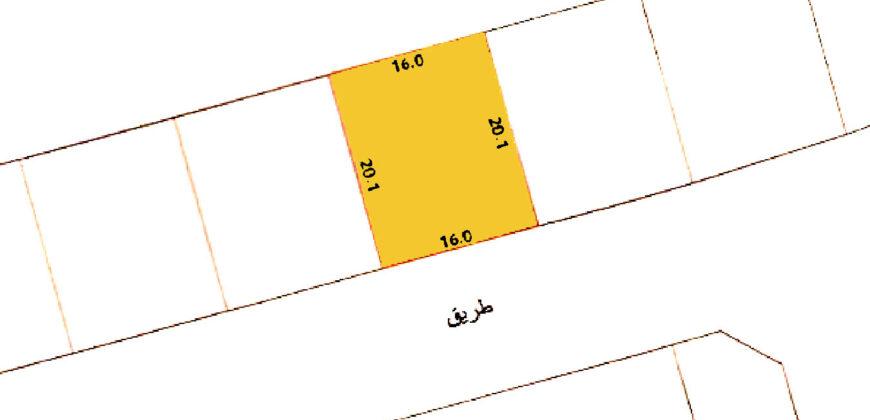 للبيع أرض سكني خاص ( أ ) بمنطقة الهملة