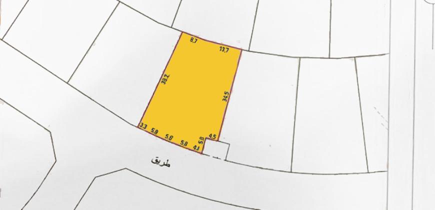 للبيع أرض إستثمارية B-D بمنطقة  الشاخورة