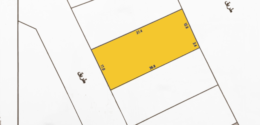 Investment land for sale (B3) located in Salmabad Area
