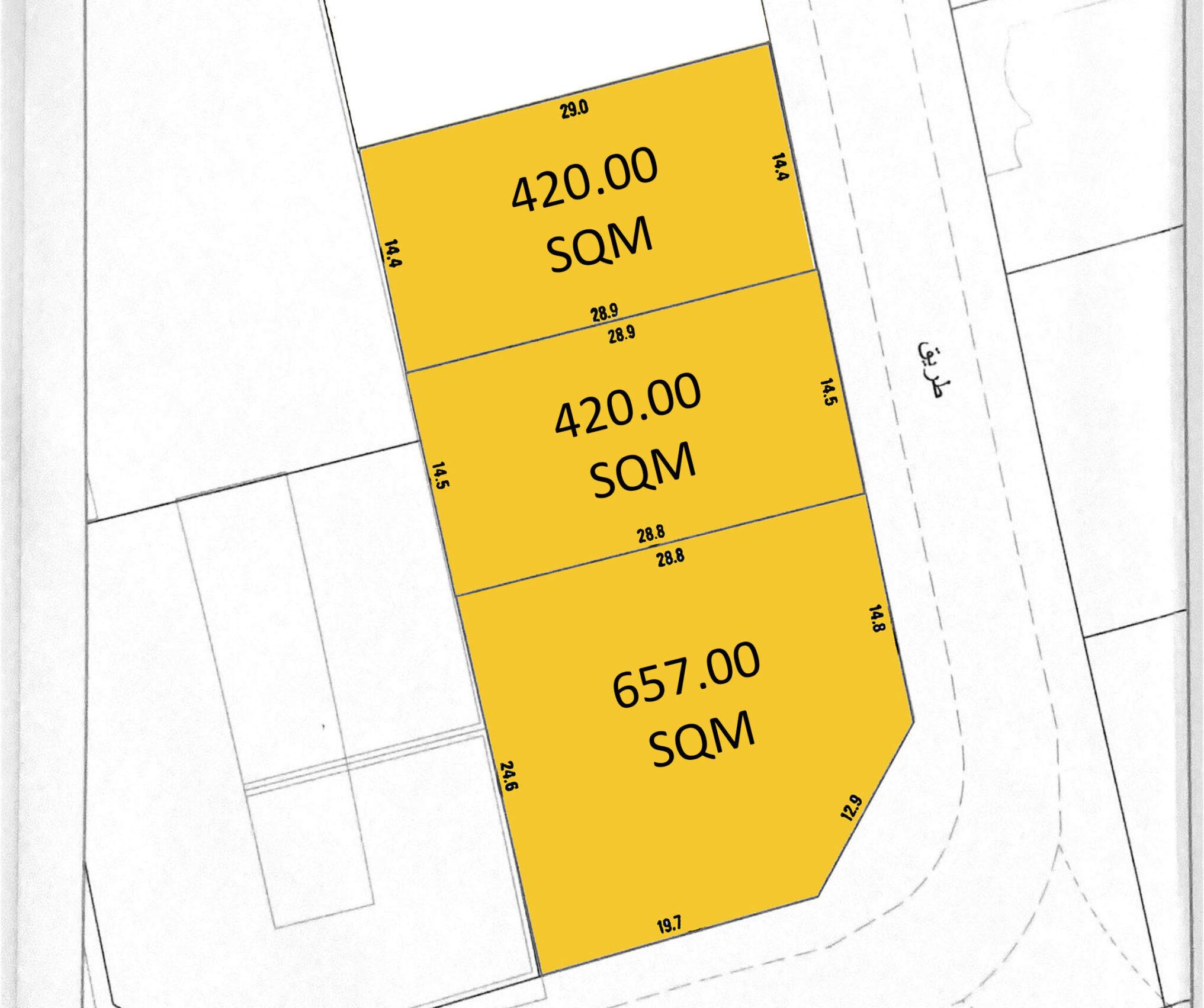 للبيع اراضي سكنية في توبلي