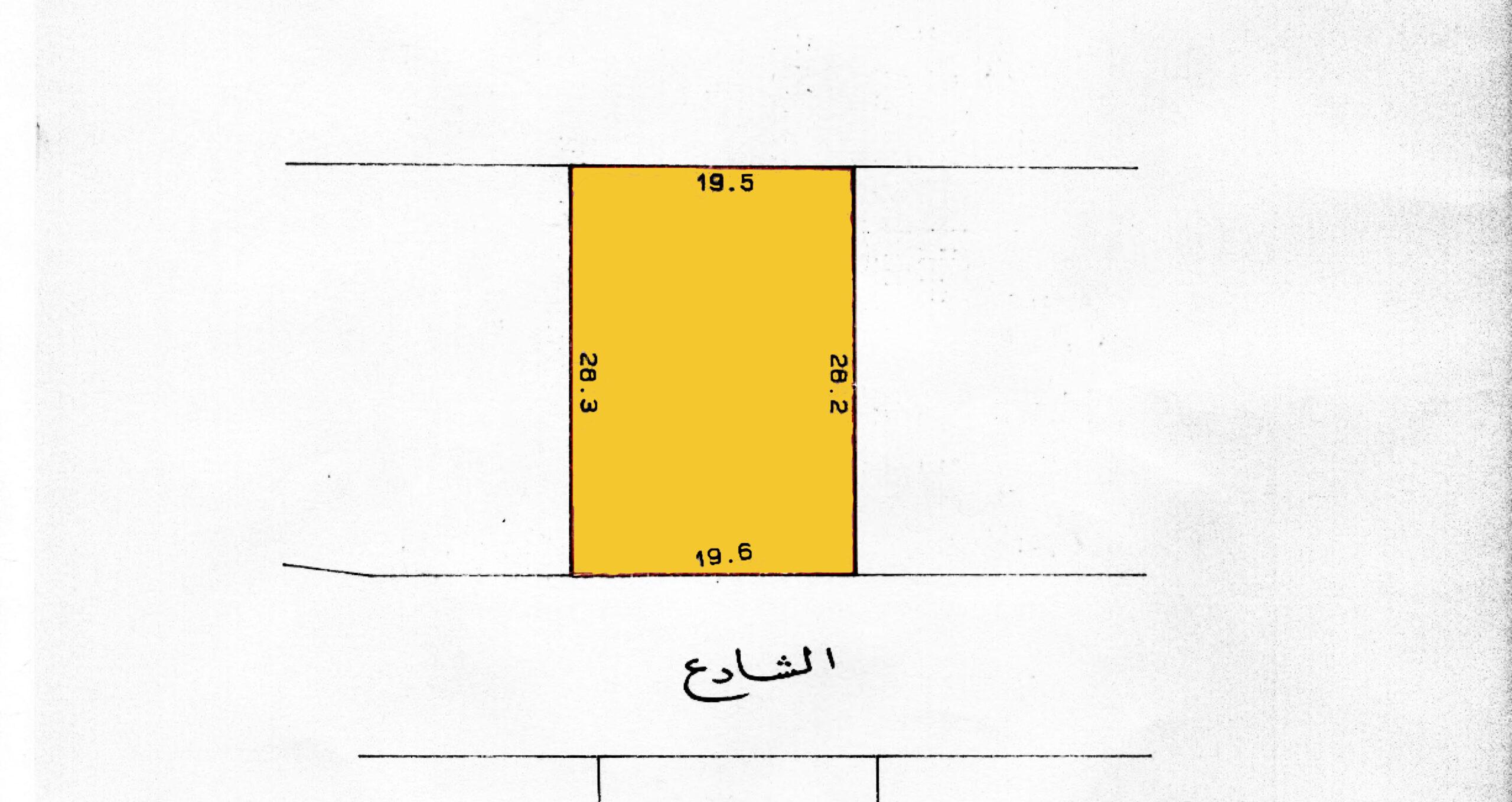 للبيع أرض سكنية في بو قوة  ( سرايا 2 )