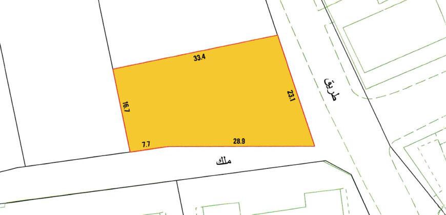 للبيع أرض إستثمارية B4 بمنطقة الغريفة ( بالقرب من ميناء سلمان) موقع ممتاز للإستثمار