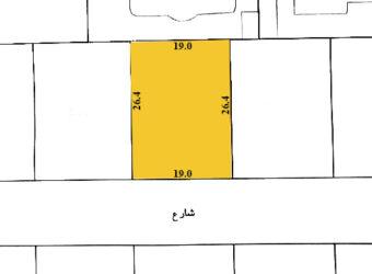 للبيع أرض سكني خاص ( أ ) بمنطقة الرفاع الغربي