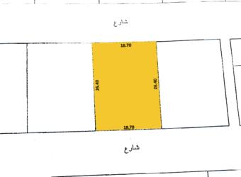 للبيع أرض سكني خاص ( أ ) بمنطقة االرفاع الغربي