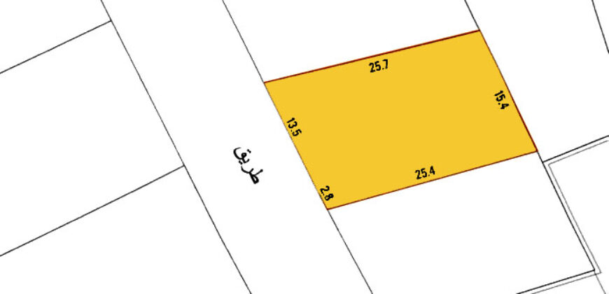 Residential land for sale located in Nuwaidrat Town
