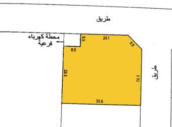 للبيع أرض صناعي خفيف بمنطقة راس زويد