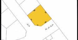 للبيع أرض سكني إستثماري بمنطقة بو قوه (سرايا 2) شارعين زاوية بموقع هادئ جداً