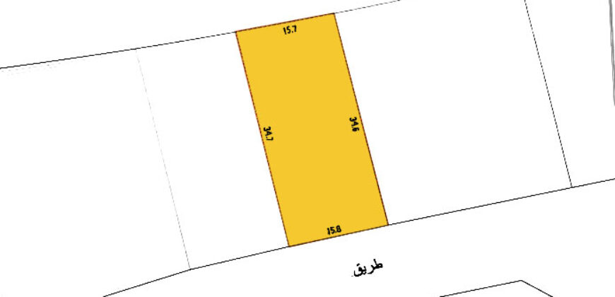 Residential land for sale located in Sanad Town