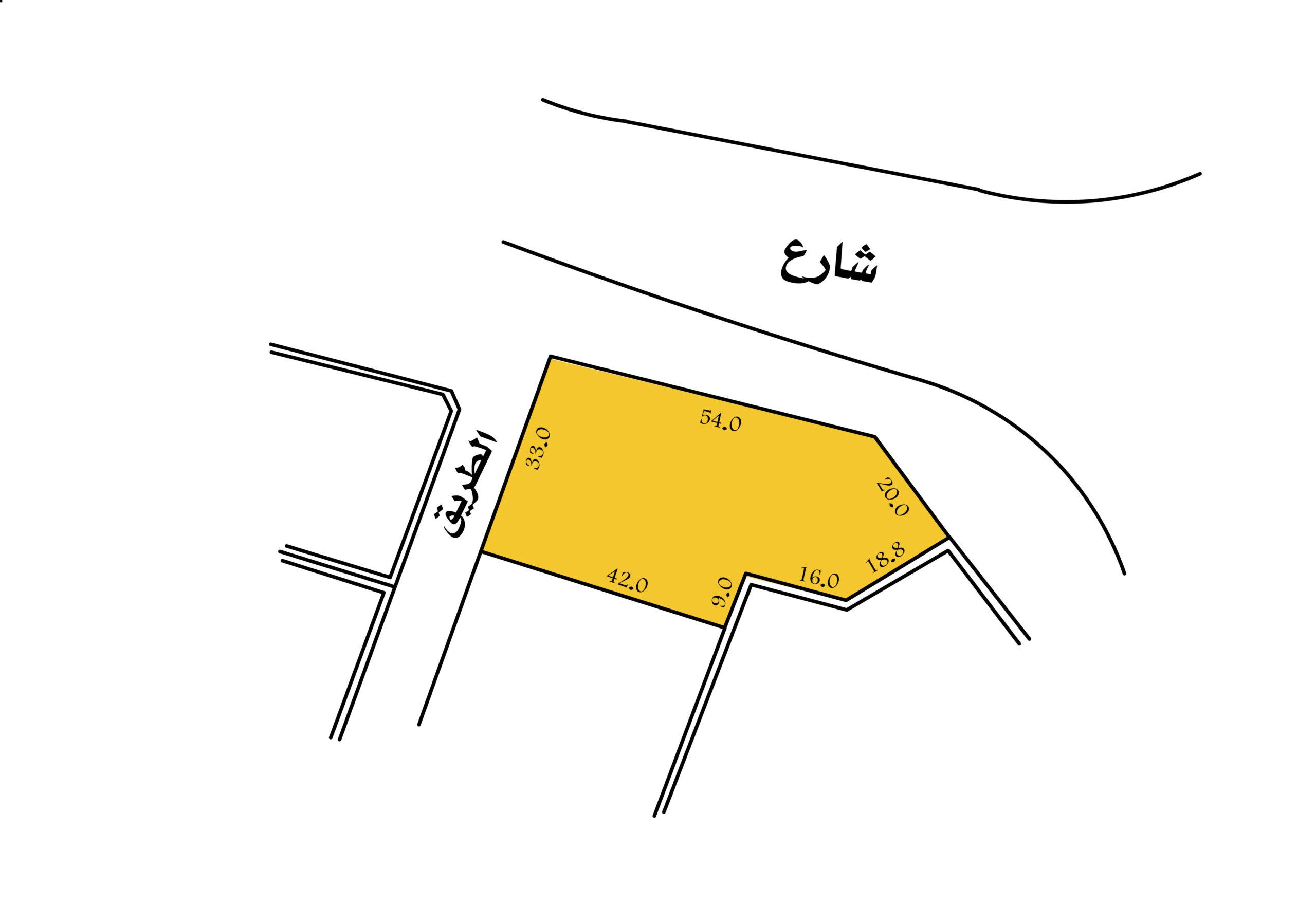 للبيع أرض سكنية فيمدينة عيسى مجمع 809