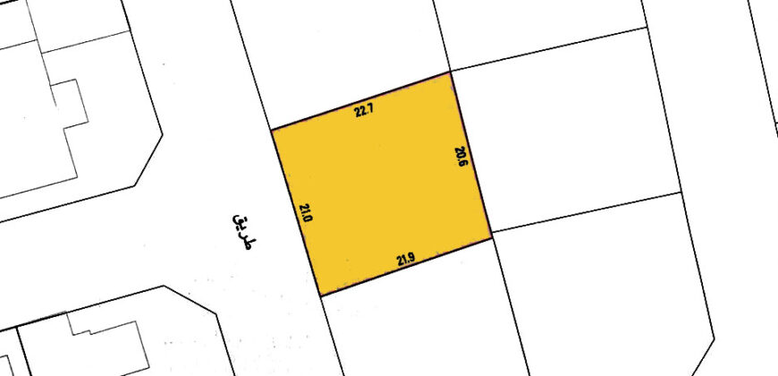 Residential lands for sale located in Maghaba (Saraya 1)