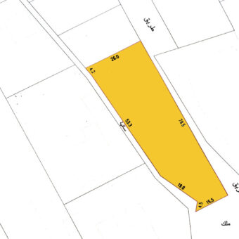 Residential land for sale located in Nuwaidrat