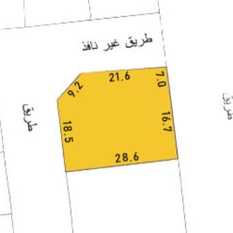 Investment land for sale ( B4 ) located in Al Qadam