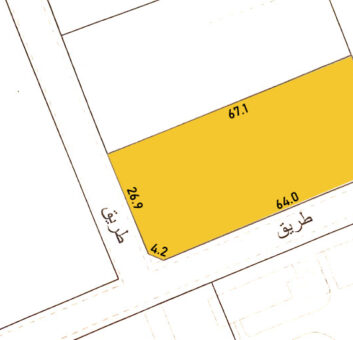 Residential land for sale located in Janabiya