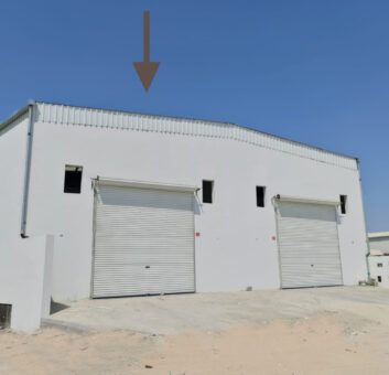 Warehouse / Workshop for rent in Hamala