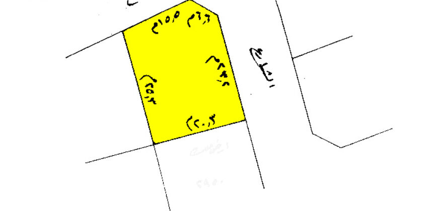 Land for sale RA located in Sanad , land size 529.00 SQM, offered for BD 165,128 /- (Price Negotiable)