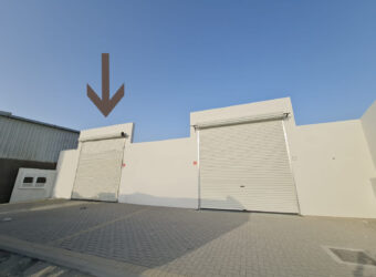 Warehouse / Workshop for rent in Hamala industrial area Property ID: DA3136-04