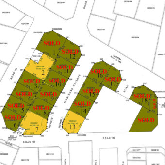 Residential lands for sale at Tubli