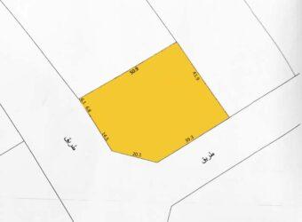 للبيع أرض إستثمارية B-D بمنطقة  الرفاع – البحير (شارع الاستقلال) رقم العقار: DA3135