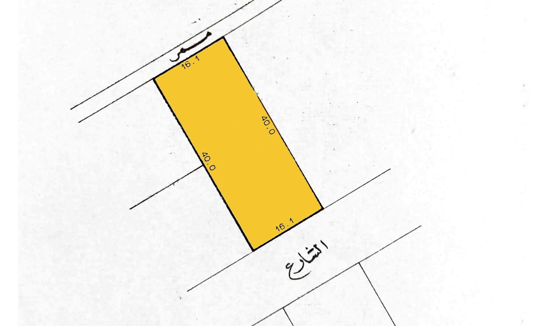 Residential land for sale located in West Al Eker