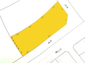 للبيع أرض بمنطقة البلاد القديم، مساحة الارض 3005.70 متر مربع، مطلوبة بقيمة -/ 808,826 دينار وقابل للتفاوض