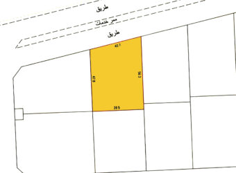 Investment land for sale (SP) located in Janabiya Town