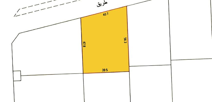 للبيع أرض إستثمارية SP بمنطقة الجنبية بالقرب من (بالقرب من محمع ديستريكت ون)