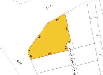 للبيع أرض مصنفة B3 بمنطقة العدلية