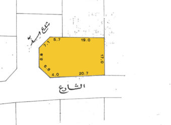 Residential land for sale located in A'Ali Town