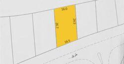 للبيع أرض سكنية في سماهيج بالقرب من البحر