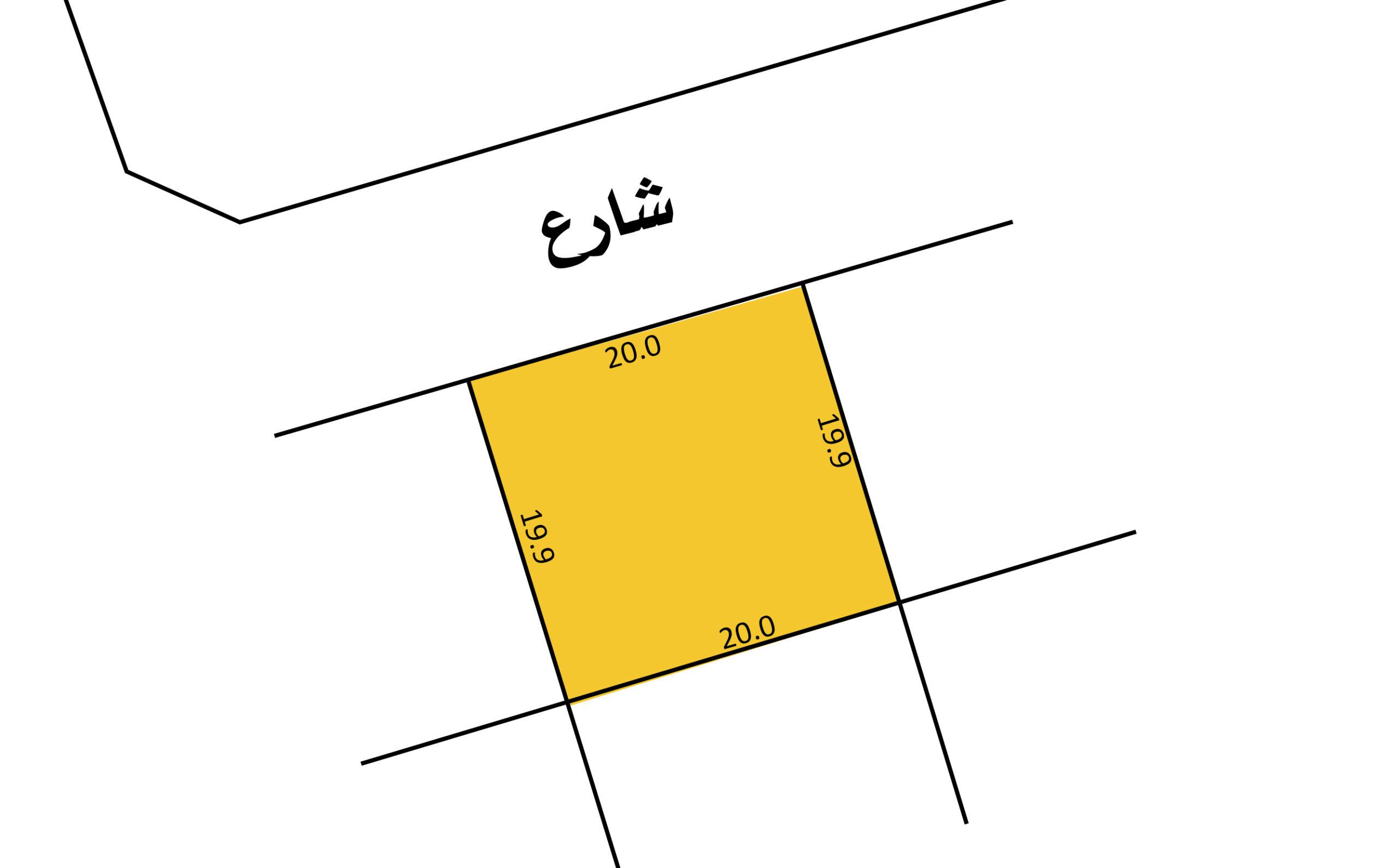 للبيع أرض سكني إستثماري بمنطقة توبلي (بالقرب من الممشى)