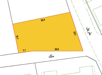 Investment land for sale (B4) located in Al Ghuraifa Town