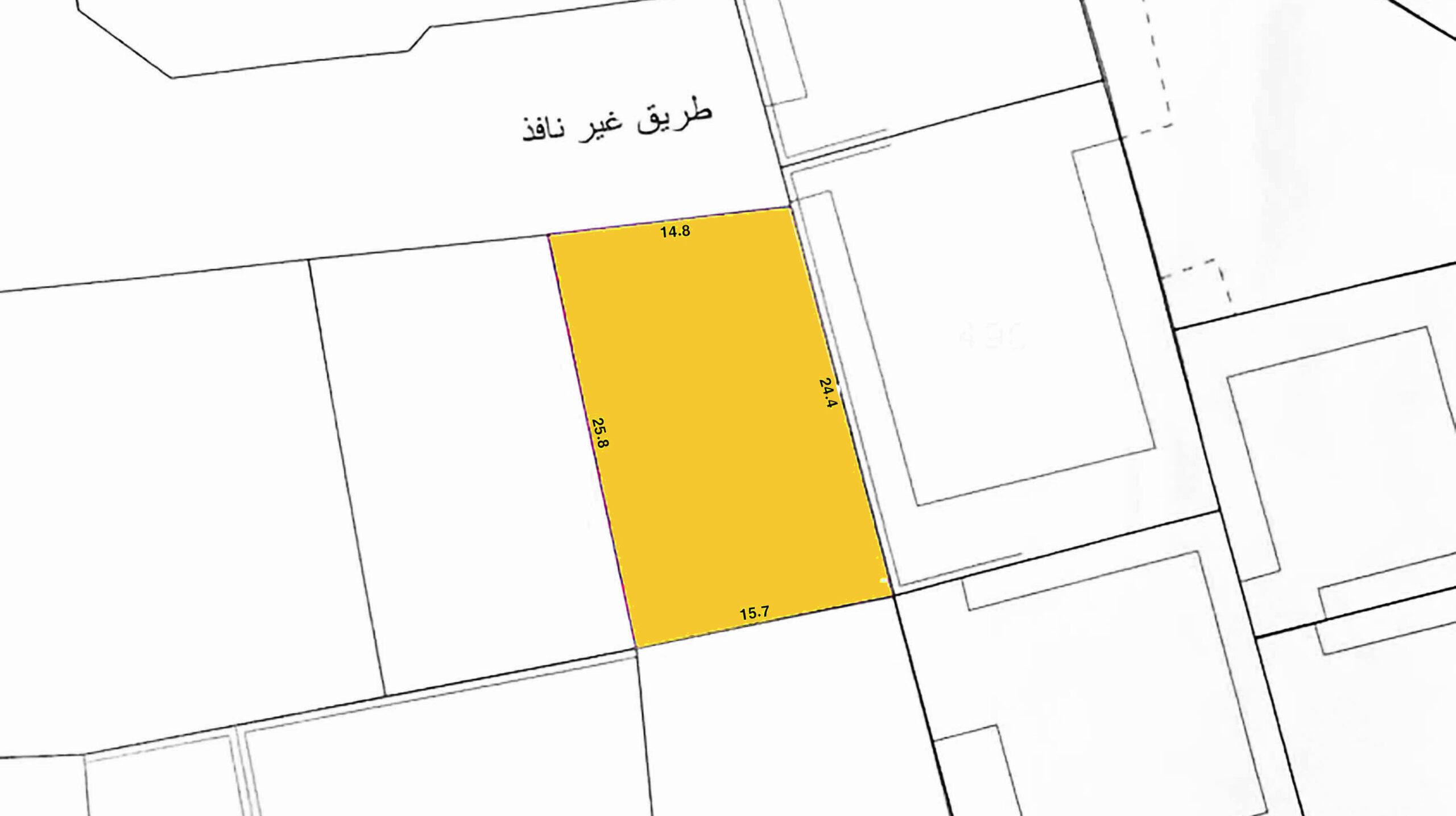 للبيع أرض سكني خاص ( ب ) بمنطقة توبلي