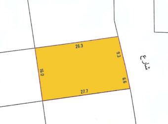 للبيع أرض سكنية في منطقة السهلة الشمالية